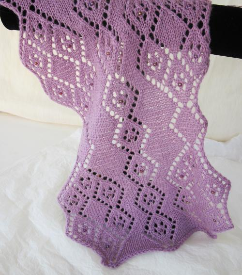 filigree wedding dress pattern